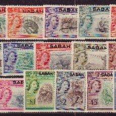 Sellos: SABAH 1/16*** - AÑO 1964 - FAUNA - ANIMALES SALVAJES - AVES. Lote 24748183