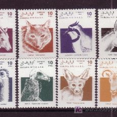 Sellos: SAHARA *** - AÑO 1992 - ANIMALES DIVERSOS. Lote 5435849