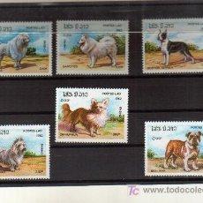 Sellos: FAUNA ANIMALES PERROS NUEVOS. Lote 4736350