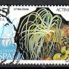 Sellos: ANIMALES : ACTINIA. ESPAÑA 1979 25 P EDIFIL 2535. . Lote 8145938