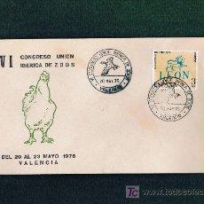 Sellos: SPD CONGRESO DE ZOOS DE VALENCIA 1975. Lote 18754155