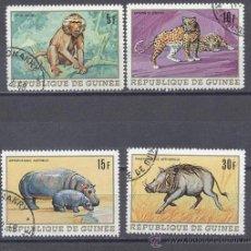 Sellos: FAUNA DE GUINEA- PRECANCELADOS. Lote 22194502