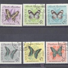 Sellos: MARIPOSAS DE GUINEA- PRECANCELADOS. Lote 22194580