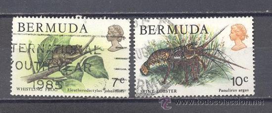 BERMUDAS, USADO (Sellos - Temáticas - Fauna)