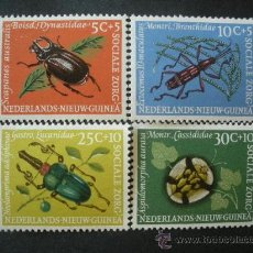 Sellos: NUEVA GUINEA HOLANDA 1961 IVERT 64/7 *** FAUNA - INSECTOS. Lote 26642046