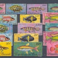 Sellos: BURUNDI. Lote 37763384