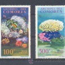 Sellos: COMORES. YVERT AV 5/6 **. Lote 37801730