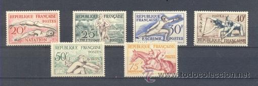 FRANCIA.- YVERT 960/65 ** (Sellos - Temáticas - Fauna)