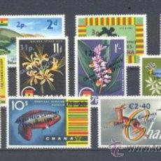 Sellos: GHANA.- YVERT 201/11 **. Lote 37902174