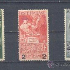 Sellos: ITALIA.- YVERT 95/97 *. Lote 38008424
