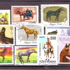 Francobolli: TEMATICA FAUNA LOTE 224 (0) CABALLOS . Lote 38918005
