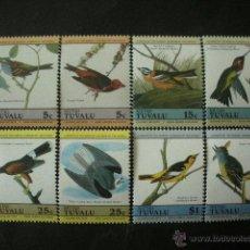 Timbres: TUVALU - NIUTAO 1985 SCOTT 25/28 *** FAUNA - PAJAROS - AVES. Lote 40455046