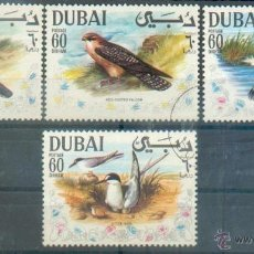 Sellos: PÁJAROS .-- PRECIOSA SERIE DE DUBAI. Lote 42798868
