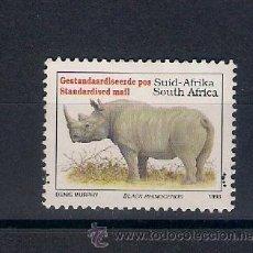 Timbres: FAUNA SALVAJE DE SUDÁFRICA. AÑO 1993. Lote 53883472
