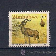 Timbres: FAUNA SALVAJE DE ZIMBABWE. AÑO 1990. Lote 53883599