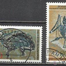Sellos: 8313--SERIE COMPLETA ALEMANIA FOSILES 1978 821/2. 7,00€. -SERIE 1978 FOSSILI COMPLETI GERMANIA 821 S. Lote 53282356