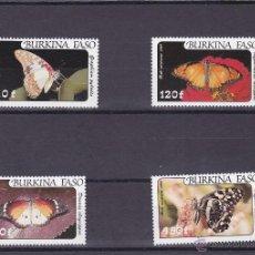 Francobolli: BURKINA FASO.1984.MARIPOSAS.Y.-A272/275.NUEVA.. Lote 54674463