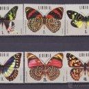 Sellos: LIBERIA.1974.MARIPOSAS.Y.-653/658.NUEVO.. Lote 54733753