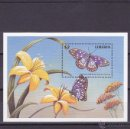 Sellos: LIBERIA.1998.MARIPOSAS/FLORES.Y.-HB-183.NUEVO.. Lote 54733769