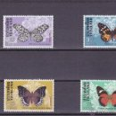 Sellos: TAILANDIA.1978.MARIPOSAS.Y. 858/861-.NUEVO.. Lote 54816724
