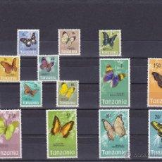 Sellos: TANZANIA.1973.MARIPOSAS.Y. 33/47-.NUEVO.. Lote 54816788