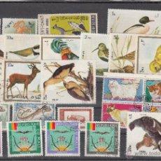 Sellos: LOTE DE 26 SELLOS DE BUENA CALIDAD DE ANIMALES.. Lote 54878929
