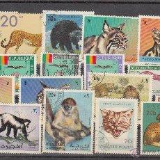 Sellos: LOTE DE 20 SELLOS DE BUENA CALIDAD DE ANIMALES.. Lote 54878973