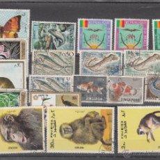 Sellos: LOTE DE 20 SELLOS DE BUENA CALIDAD DE ANIMALES.. Lote 54878997