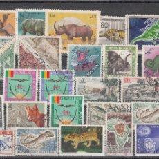 Sellos: LOTE DE 28 SELLOS DE BUENA CALIDAD DE ANIMALES.. Lote 54879425