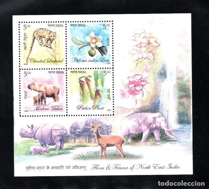 INDIA HB 30** - AÑO 2005 - FLORA Y FAUNA DEL NORDESTE (Sellos - Temáticas - Fauna)