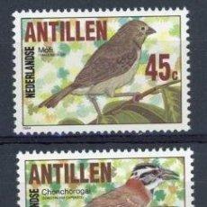 Sellos: ANTILLAS HOLANDESAS 1984 IVERT 723/5 *** FAUNA - AVES - PAJAROS. Lote 70573713