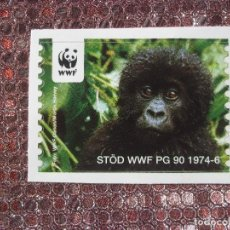 Sellos: WWF MONO. Lote 89685236