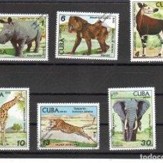 Selos: CUBA Nº 2081 AL 2084 Y AE 304 AL 305(**). Lote 95702923