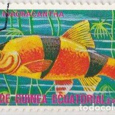 Sellos: 1975 - GUINEA ECUATORIAL - PECES EXOTICOS - BOTIA MACRACANTHA. Lote 98793583