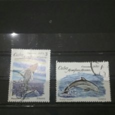Sellos: SELLOS DE CUBA MATASELLADOS. 1980. PECES. MARINOS. ANIMALES. FAUNA MARINA. NATURALEZA. . Lote 98811894