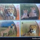 Sellos: IRAN 2003 FAUNE WWF YVERT 2668 / 71 ** MNH. Lote 103502455