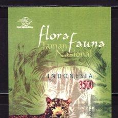 Sellos: SELLOS FAUNA INDONESIA 2002 FLORA Y FAUNA HB 179A. Lote 108363295
