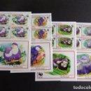 Sellos: AITUTAKI COOK 2002 PAJAROS OISEAU WWF YVERT 589 /92 ** MNH. Lote 110634067
