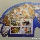Sellos: KINGDOM OF TONGA PROTECCIÓN ANIMALES EN EXTINCIÓN TORTUGAS YVERT ** MNH . Lote 111514879