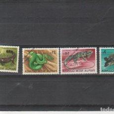 Sellos: PAPUA NUEVA GUINEA Nº 217 AL 220 (**). Lote 115271967