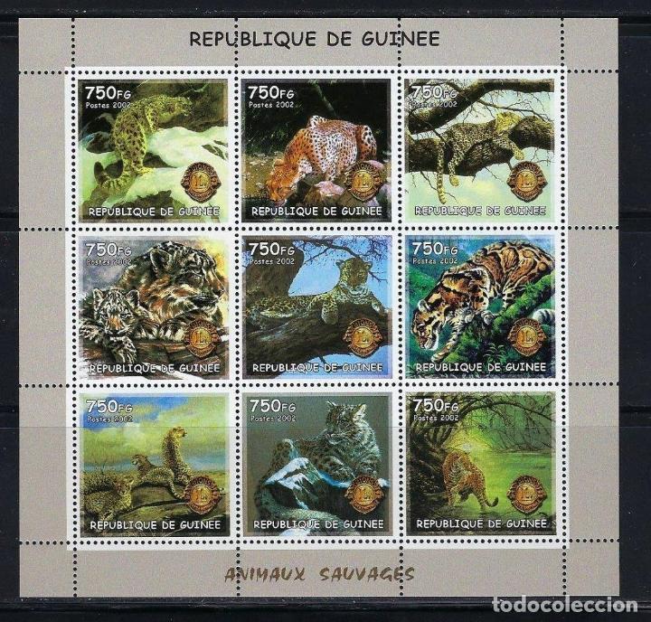 R. GUINEA 2002 *** FAUNA SALVAJE - EL JAGUAR (Sellos - Temáticas - Fauna)