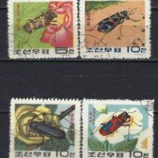 Sellos: FAUNA / COREA - SELLOS USADOS - SERIE COMPLETA . Lote 126380107