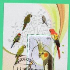 Sellos: HB RUMANIA 2011 AVES FAUNA . Lote 129098475