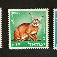 Sellos: ISRAEL 1967 Y&T 351/53** NUEVOS. Lote 131572514