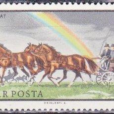 Sellos: 1968 - HUNGRIA - CABALLOS - YVERT 1979. Lote 134073358