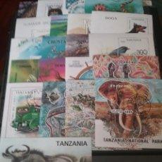 Sellos: HB R. TANZANIA MTDAS/LOTE HB TANZANIA/FAUNA/TRANSPORTES/FLORA/NATURALEZA/ANIMALES/DEPORTE. Lote 144608472