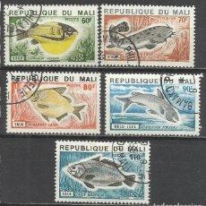 Sellos: 350-SELLOS SERIE COMPLETA 1957 Nº 236/40 PECES MALI COLONIA FRANCESA,FAUNA MARINA.BONITOS SELLOS TE. Lote 145523734
