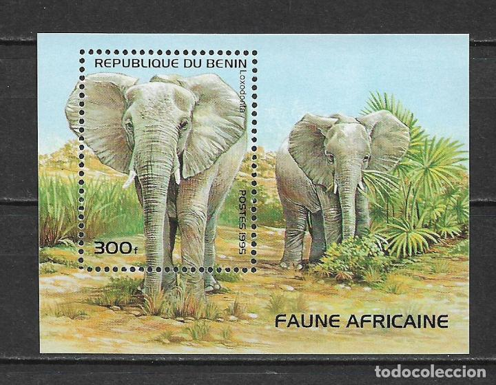 BENIN 1995 ** MNH FAUNA ELEFANTES - 118 (Sellos - Temáticas - Fauna)