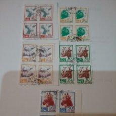 Sellos: SELLOS COREA NORTE MTDA (DPKR)/1990/ANIMALES DOMESTICOS/BUHEY/OVEJA/CABRA/CABALLO/CERDO/FAUNA/MAMIFE. Lote 152473480
