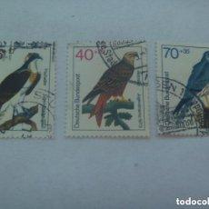 Sellos: LOTE DE 3 SELLOS DE ALEMANIA OCCIDENTAL ( RFA ): AVES , PAJAROS. Lote 152484274